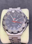 Tag Heuer formula 1 watch 45 mm stainless steel watch