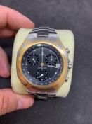 Vintage Omega Seamaster Chrono date watch approximately 40 mm to crown