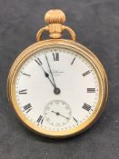 Waltham USA gold coloured pocket watch