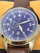 TOUIS 50mm S/Steel Automatic Watch Ltd Edition 25/100