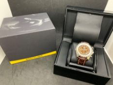 Breitling Bentley Watch With Breitling Box Approx 52mm
