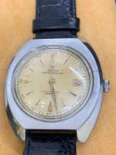 Vintage 40mm S/Steel Watch Marked Rolex - Movement checked and verified as Rolex, Automatic