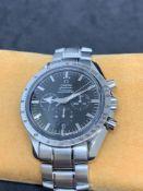 40mm Omega Speedmaster Chrono Watch Stainless steel