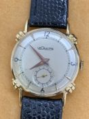 30mm 14k Gold Le Coultre Watch