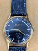 Mathey Tissot 14k Gold Watch 35mm