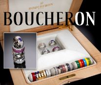 Rare Boucheron 18ct Gold & Diamond Set Cost Approx £125,000 - 20.00cts Of Wesselton VVS-VS Diamonds