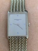 Vacheron & Constantin Diamond Set 18ct Gold Watch