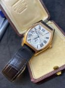 18ct Rose Gold Cartier Automatic Watch