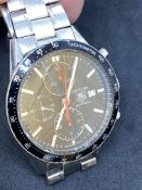 TAG HEUER CARRERA AUTOMATIC CHRONOGRAPH WATCH