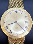 PATEK PHILIPPE 18ct GOLD GENTS AUTOMATIC WATCH