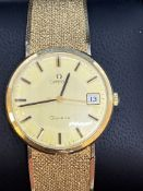 9ct GOLD OMEGA WATCH 55 grams