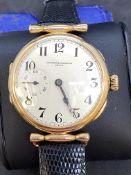 VACHERON CONSTANTIN 14ct GOLD WATCH 44mm