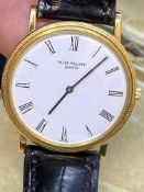 18ct GOLD PATEK PHILIPPE WATCH