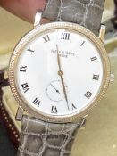 18ct Gold GENTS PATEK PHILIPPE WATCH