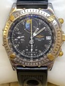 BREITLING STEEL & GOLD GENTS WATCH