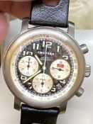 GENTS TITANIUM CHOPARD CHRONOGRAPH WATCH