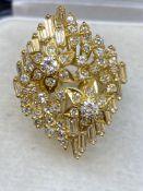 18ct GOLD 2.50ct G/VS-SI DIAMOND RING - 11 GRAM