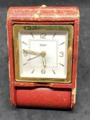 VINTAGE JAEGER TRAVEL CLOCK