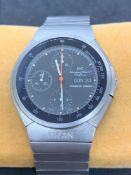 IWC titanium ChronoGraph Porsche design watch 42mm