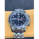 Omega Seamaster GMT S/S Watch