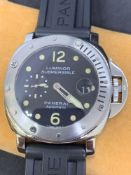 Panerai Luminor Submersible Automatic Watch Firenze 1860