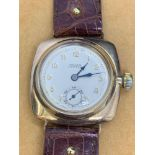 9ct Gold Vintage Rolex Oyster Watch