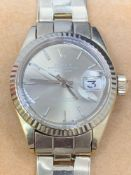 18ct Gold Ladies Rolex Datejust Watch