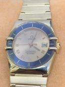 18ct Gold Omega Constellation Watch 26mm Quartz