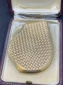 18ct GOLD LIGHTER MARKED CARTIER - 77 GRAMS