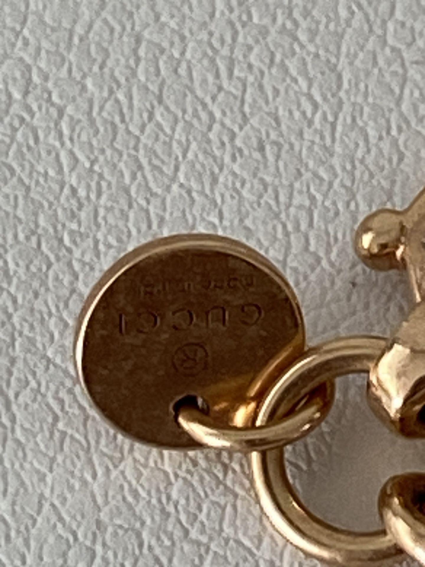 GUCCI 18ct ROSE GOLD HORSEBIT CHAIN - Image 4 of 6