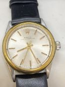 ROLEX OYSTER PERPETUAL STEEL & GOLD WATCH