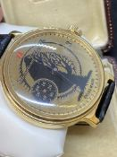55mm LARGE WATCH MARKED IWC AND SWISS