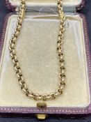 17.3 Gram 9ct GOLD BELCHER CHAIN