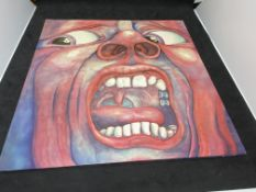 KING CRIMSON - IN THE COURT OF THE CRIMSON KING ALBUM - FROM PRIVATE COLLECTION