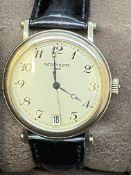 18ct White Gold Patek Philippe Calatrava Ref 5053 Watch with Box