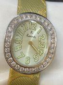 Kutchinsky L'ovale Ladies watch w/Diamonds - Approx 3.00cts
