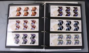A collection of commemorative First Class stamps for the 2012 London Olympics, in a presentation