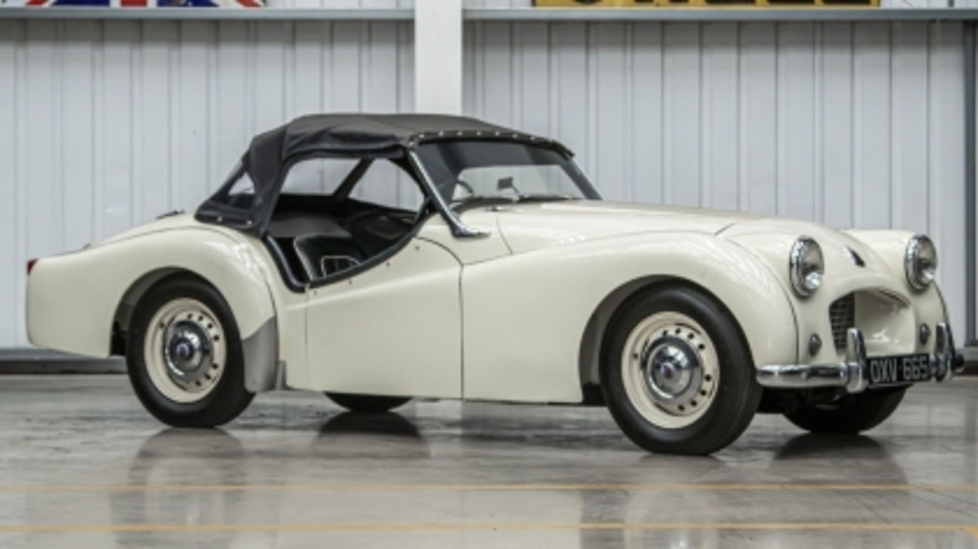 Lot 553 - 1954 Triumph TR2 'Long Door'