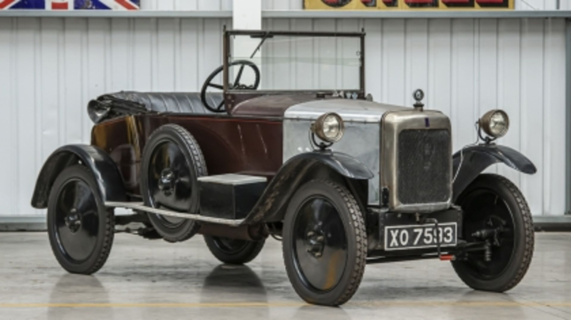 Lot 506 - 1923 BSA TA11 Drophead Coupe with Dickey Seat