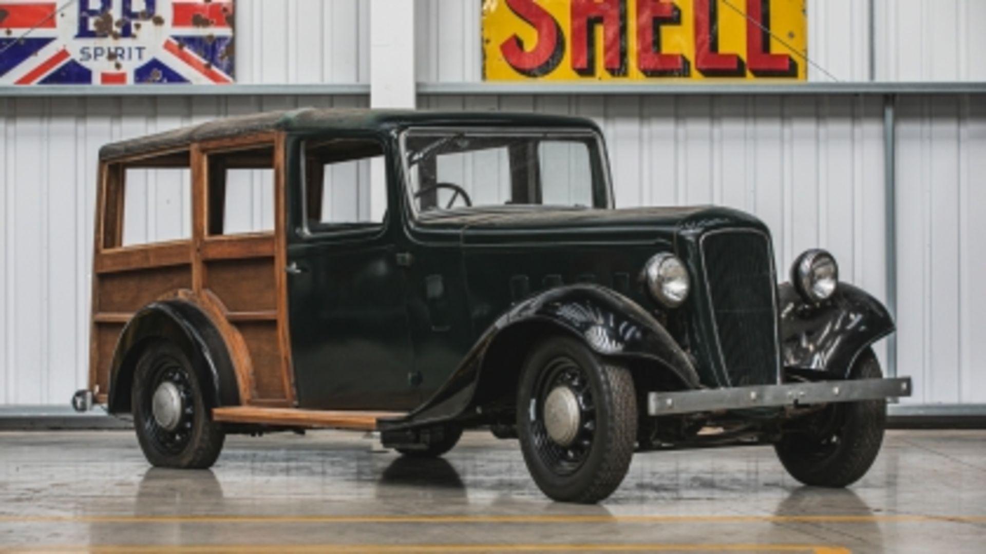 Lot 584 - 1935 Austin 10 'Woodie' Project