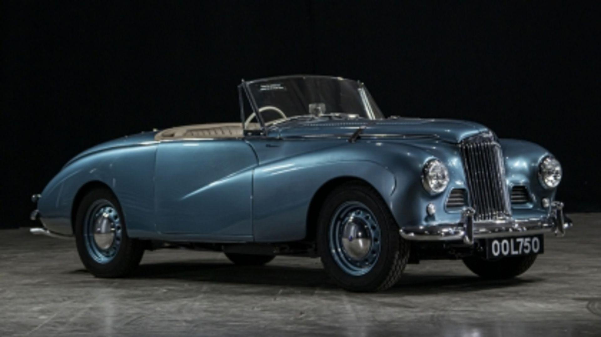 Lot 550 - 1953 Sunbeam Alpine Special