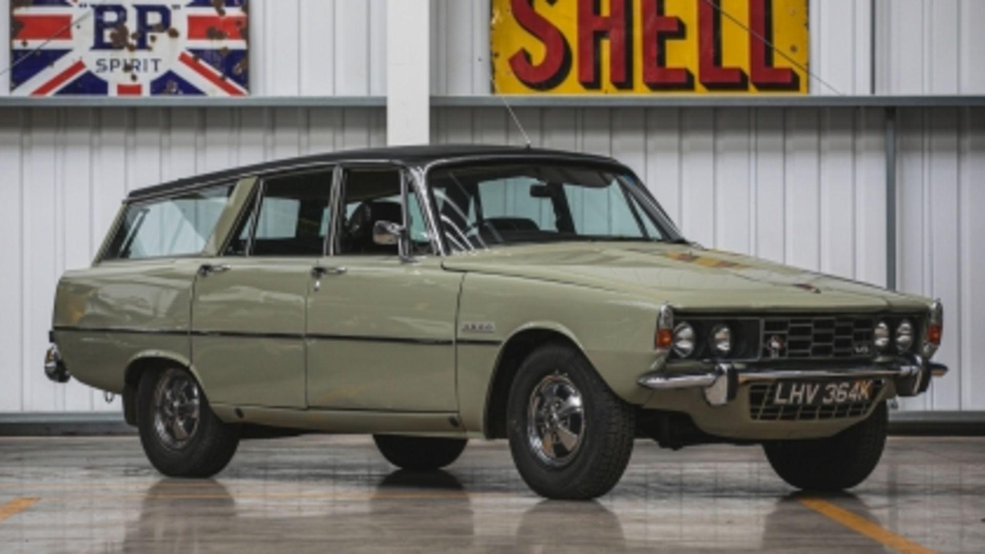 Lot 528 - 1972 Rover P6 3500 Estoura