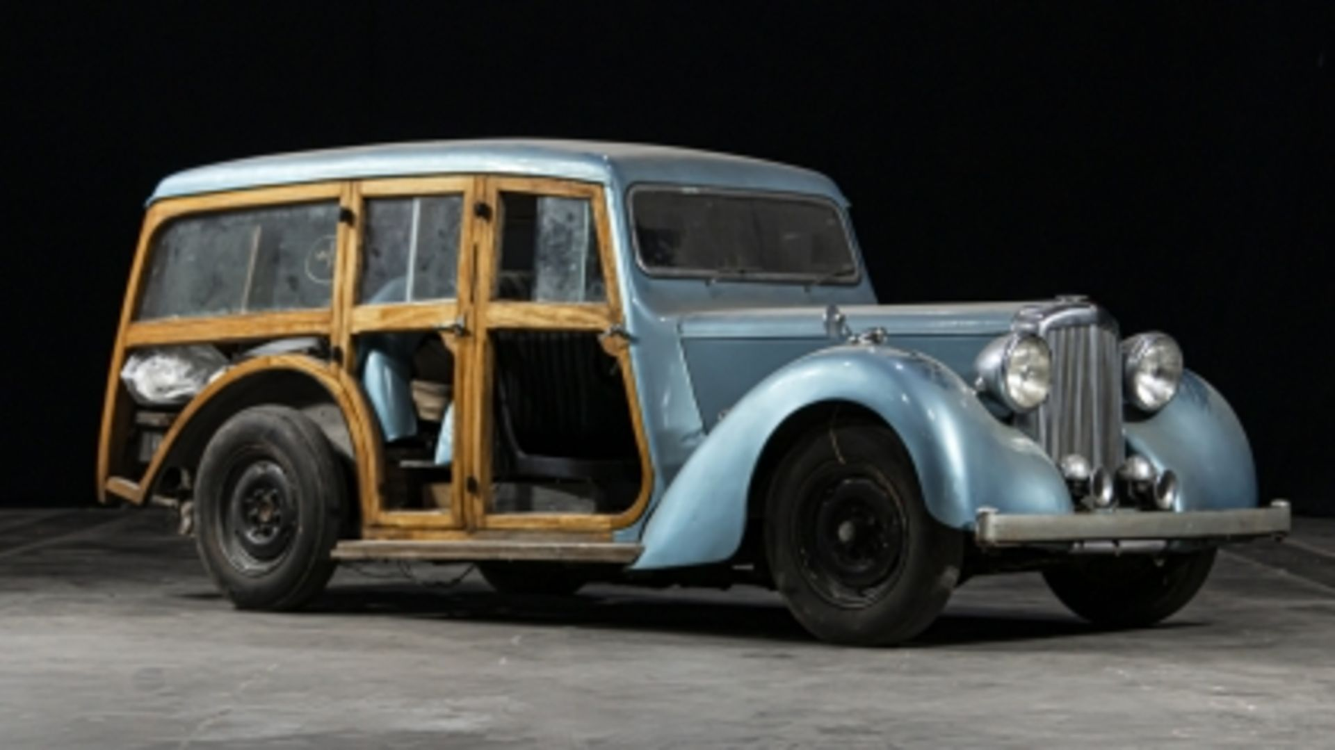 Lot 540 - 1947 Alvis TA14 Barnard Woodie