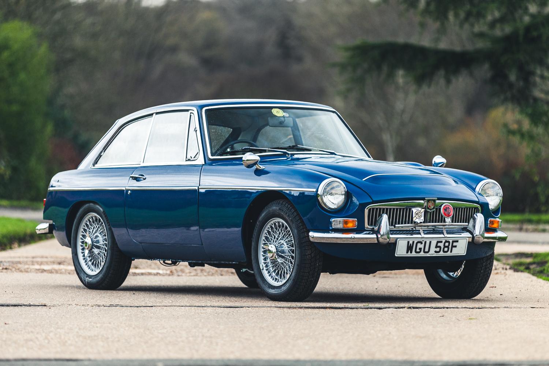 1968 MG C GT Auto