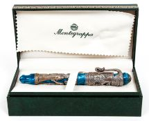 Montegrappa Luxor Blue Nile Fountain Pen