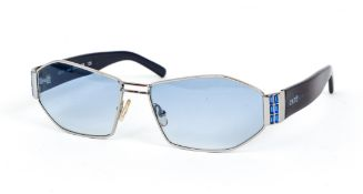 Cartier Sunglasses with blue lenses and sequins