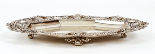 Tiffany Sterling Silver Footed Tray