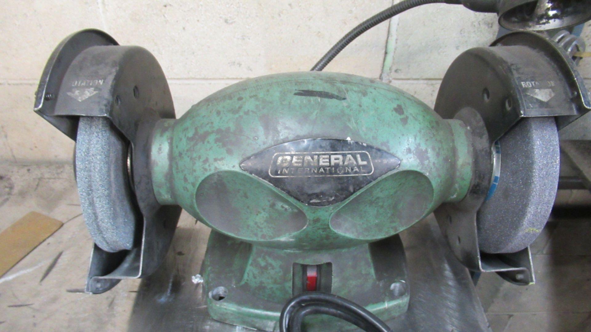 Lot 46 - GENERAL ELECTRIC BENCH GRINDER