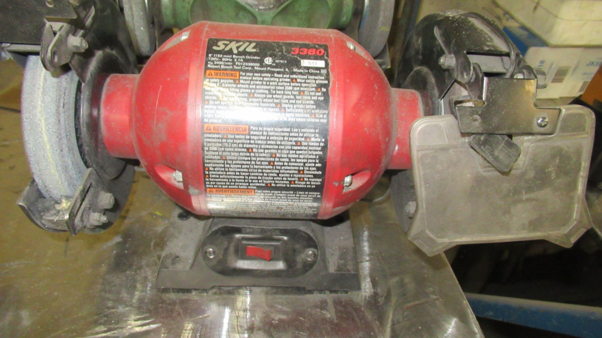 Lot 47 - SKILL ELECTRIC BENCH GRINDER