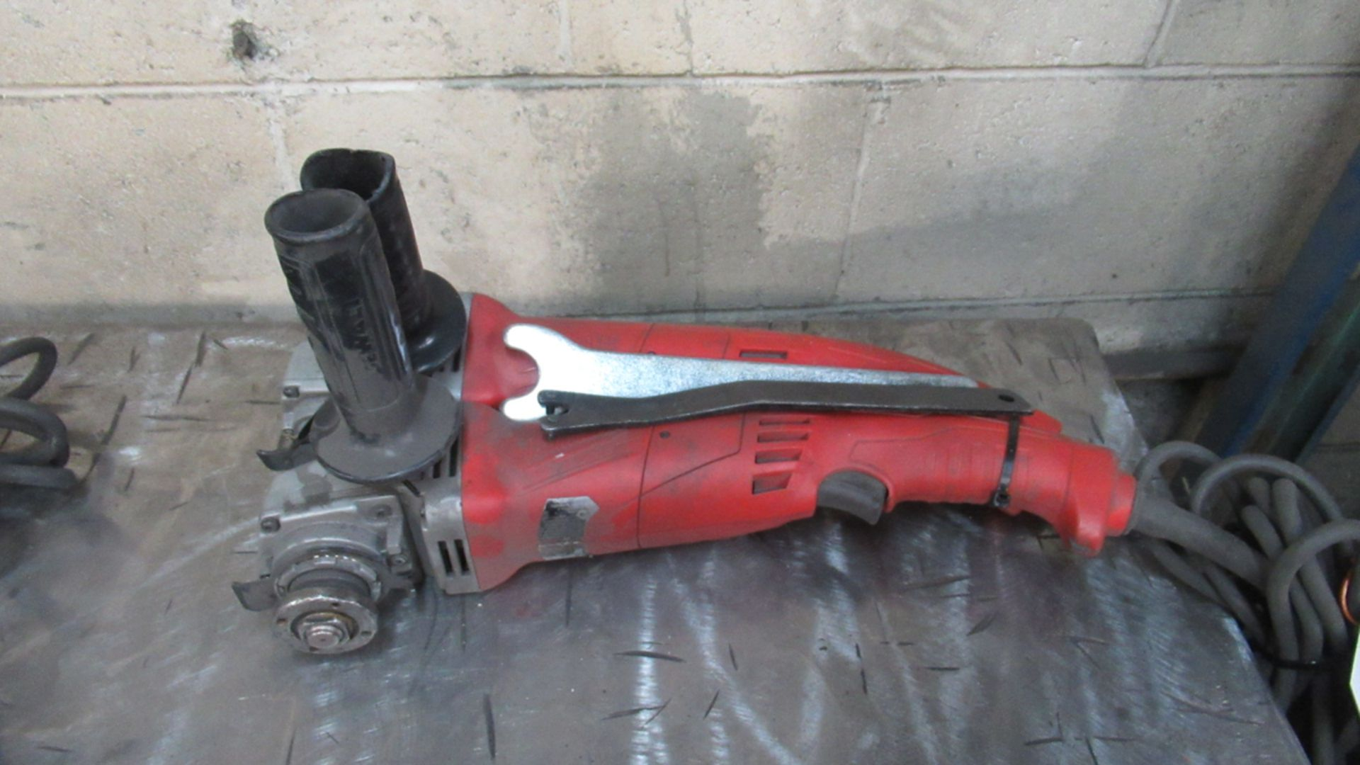 Lot 23 - LOT OF 2 MILWAUKEE ELECTRIC GRINDERS